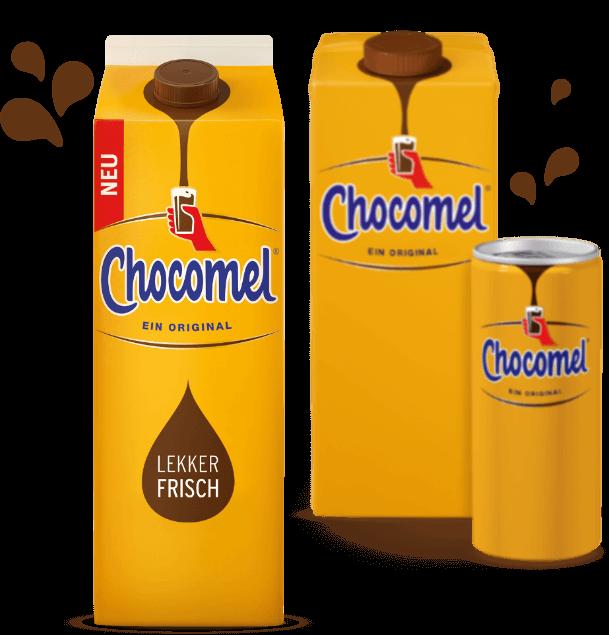 Chocomel. Lekker frisch!