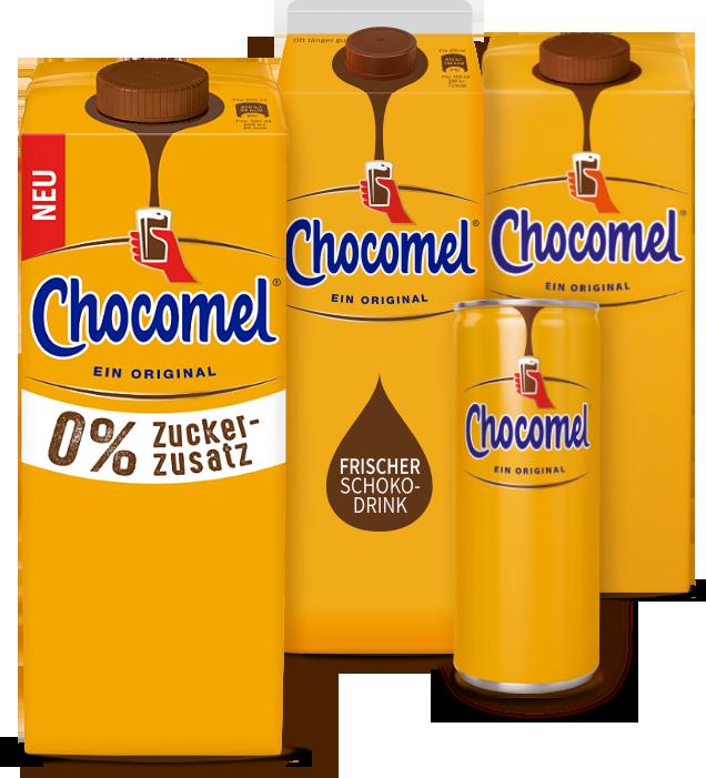 Die Chocomel-Produkte